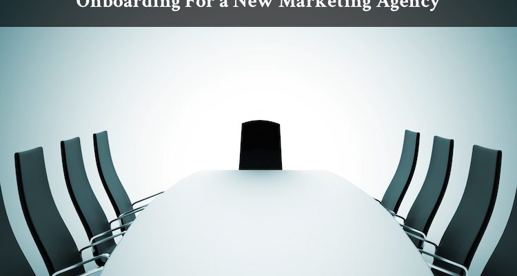 Onboarding For a New Marketing Agency
