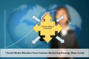 Any content marketing strategy must avoid these social media mistakes to succeed with their target audience in online marketing